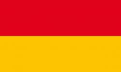 Flagge von Baden (1855 - 1891)