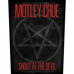 Mötley Crüe Shout At The Devil Rückenaufnäher