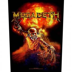 Megadeth Nuclear Rückenaufnäher
