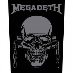 Megadeth VIC Rattlehead Rückenaufnäher