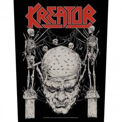 Kreator Skull & Skeletons Rückenaufnäher