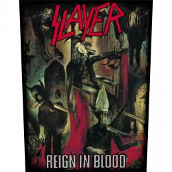 Slayer Reign in Blood Rückenaufnäher