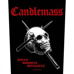 Candlemass Epicus Doomicus Metallicus Rückenaufnäher