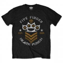 Five Finger Death Punch T-Shirt Chevron