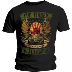 Five Finger Death Punch T-Shirt Locked & Loaded
