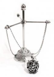 Eulen Anhänger Halskette