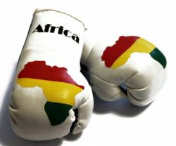 Mini Boxhandschuhe - Afrika