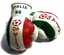 Mini Boxhandschuhe - Italien 90
