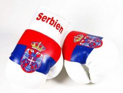 Mini Boxhandschuhe - Serbien