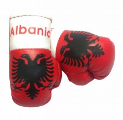 Mini Boxhandschuhe - Albanien