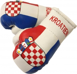 Mini Boxhandschuhe - Kroatien
