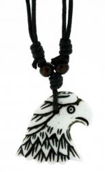 Adlerkopf Anhänger  Halskette