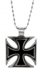 Halskette mit Eisernem Kreuz Anhänger