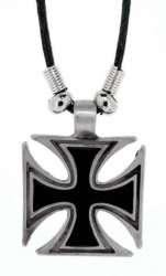 Pendant Iron Cross  Necklace