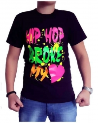 Hip Hop Broke My Heart T-Shirt