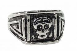 Totenkopf Design Ring