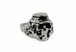 Totenkopf Mütze Ring