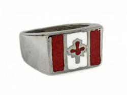 Kanada Fahne Ring