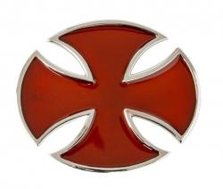 Eisernes Kreuz Weinrot