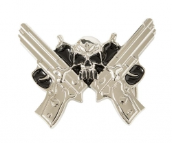 Revolver Buckle Silvery