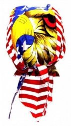 Rocker Bandana Cap - Amerikanischer Adler