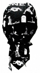Biker Bandana Cap - Skelett Kamasutra