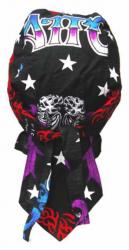 Rocker Bandana Cap - Tattoo Design Rot