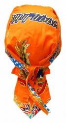 Rocker Bandana Cap - Happy Division Orange