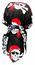 Biker Bandana Cap - Piraten