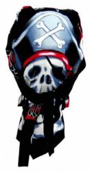 Rocker Bandana Cap - Piraten