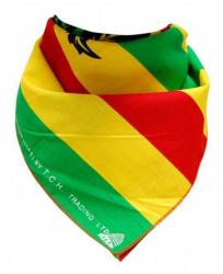 Bandana Kopftuch Cannabis Rastafari