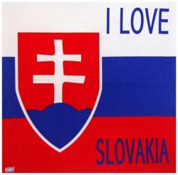 Bandana Halstuch I Love Slovakia