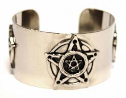 Armspange Pentagramm