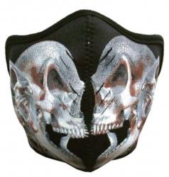 Biker Maske Tattoo Skull