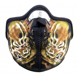Biker Maske Devil\'s Warrior