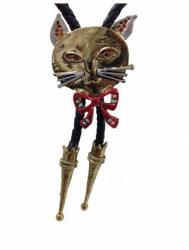 Cowboy Krawatte Katze