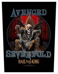 Avenged Sevenfold Hail To The King Rückenaufnäher