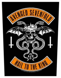 Avenged Sevenfold Hail The King Backpatch