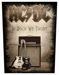 ACDC In Rock We Trust Backpatch