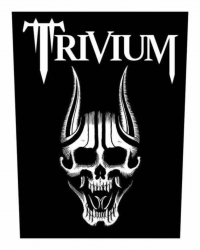 Trivium Screaming Skull Backpatch