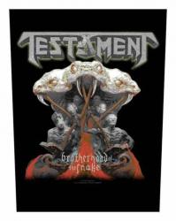Testament Brotherhood Of The Snake Rückenaufnäher