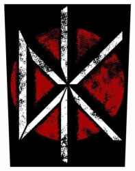 Dead Kennedys Vintage DK Logo Rückenaufnäher