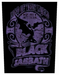 Black Sabbath Lord Of This World Rückenaufnäher