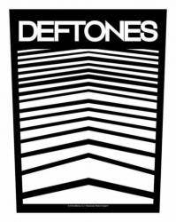 Deftones Abstract Lines Rückenaufnäher