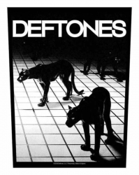 Deftones Panther Backpatch