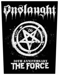 Onslaught The Force 30th Anniversary Backpatch