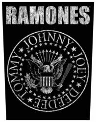 Ramones Classic Seal Rückenaufnäher