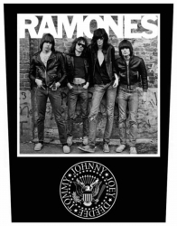 Ramones 1976 Rückenaufnäher