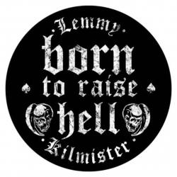 Lemmy Born To Raise Hell Rückenaufnäher