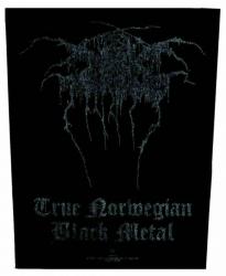 Darkthrone True Norweigan Black Metal Rückenaufnäher